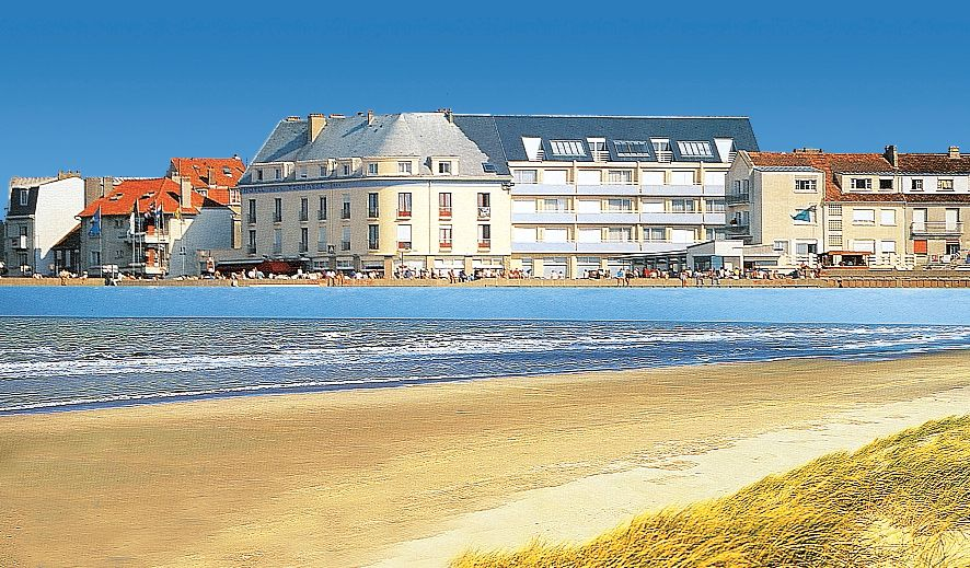 Hotel la terrasse in picardie jetair for Appart hotel fort mahon