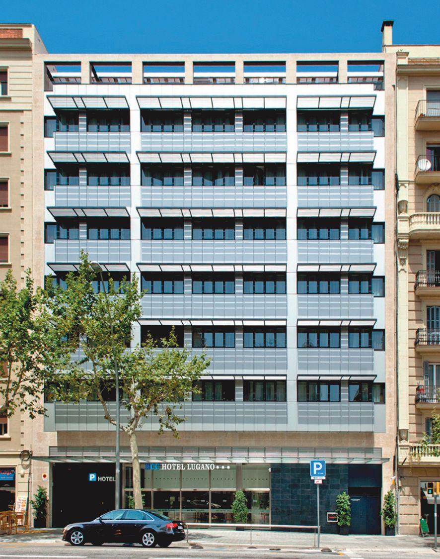 Hotel Hcc Lugano Barcelone