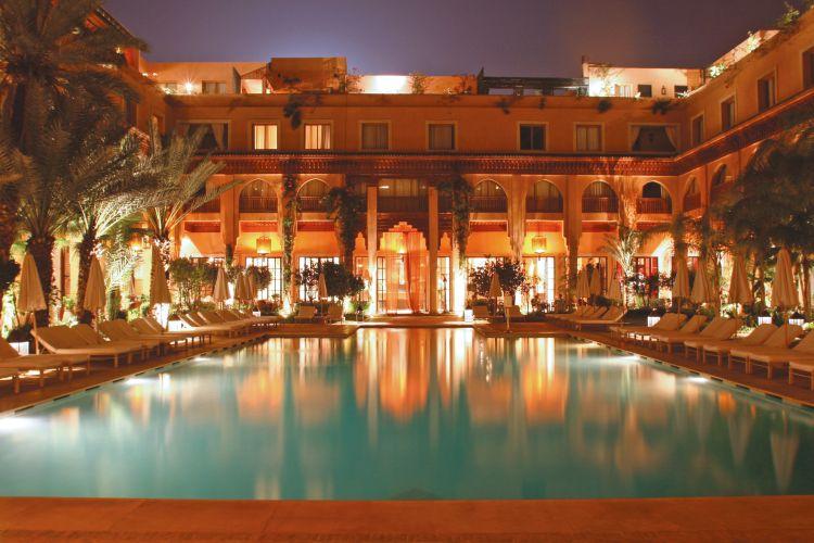 hotel les jardins de la koutoubia in marrakech. Black Bedroom Furniture Sets. Home Design Ideas