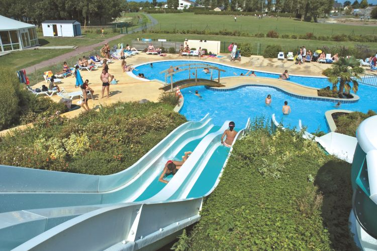 Camping le fanal in normandi for Camping haute normandie piscine